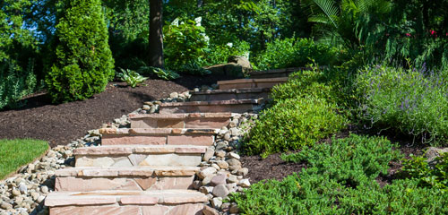 Complete Care Landscape Natural Stone Walkway