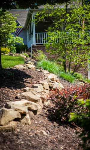 Landscape Projects Natural Stone Wall